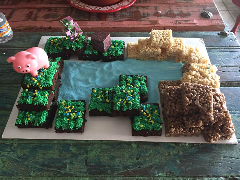 A Minecraft Party